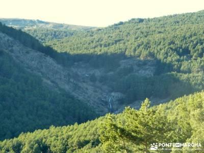 Chorro de San Mamés - Montes Carpetanos - rutas senderismo madrid;mundo singles senderos del sur